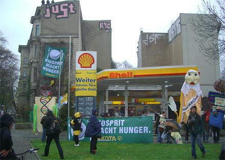 Biosprit macht Hunger