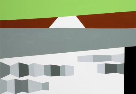 Olaf Christopher Jenssen Malerei (Ausschnitt)