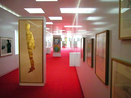 Blick in die Andy Warhol Ausstellung