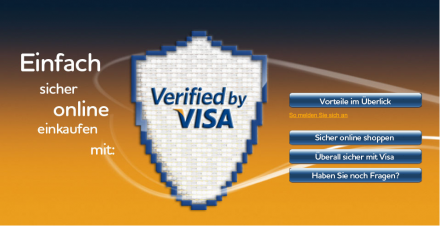 verified by visa funktioniert nicht