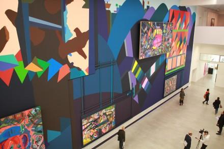 Franz Ackermann in der Berlinischen Galerie Painting Forever